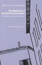 The Meaning of the Built Environment PDF