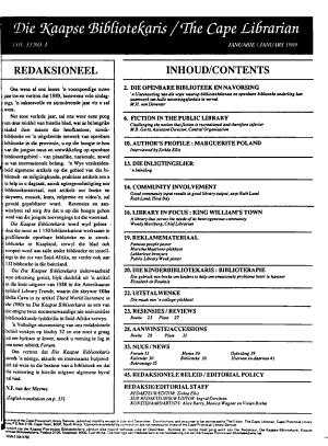 Cape Librarian PDF