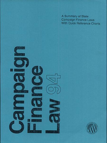 Campaign Finance Law 1994