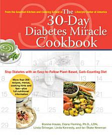 The 30 Day Diabetes Miracle Cookbook