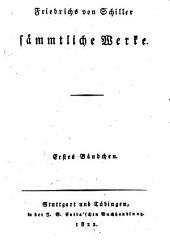 Friedrichs von Schiller sämmtliche Werke: Nachrichten von Schillers Leben. Gedichte der ersten[-zweyten] Periode. Metrische Uebersetzungen [Aeneid 2,4