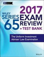 Wiley FINRA Series 65 Exam Review 2017 PDF