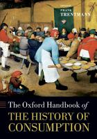 The Oxford Handbook of the History of Consumption PDF