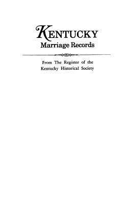 Kentucky Marriage Records PDF