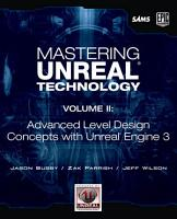 Mastering Unreal Technology  Volume II PDF