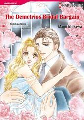 THE DEMETRIOS BRIDAL BARGAIN: Harlequin Comics