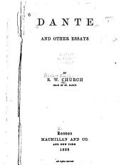 Dante, and Other Essays