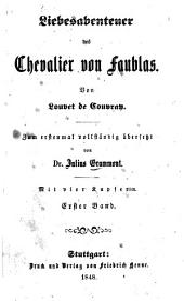 Liebesabenteuer des Chevalier von Faublas: Band 1