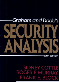 Security Analysis  Fifth Edition