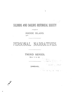 Personal Narratives of Events in the War of the Rebellion PDF