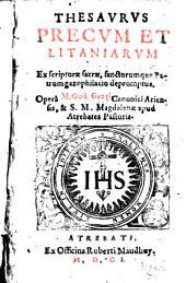 Thesaurus precum et litaniarum