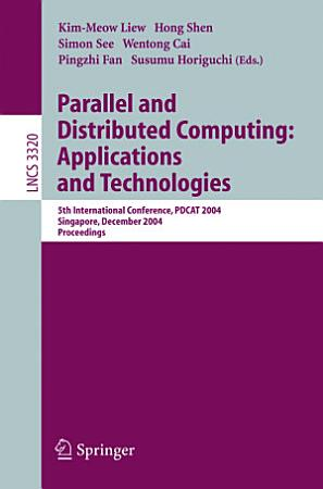 Parallel and Distributed Computing  Applications and Technologies PDF