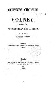 Oeuvres choisies de Constantin-François Chasseboeuf, comte de Volney