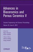 Advances in Bioceramics and Porous Ceramics V PDF