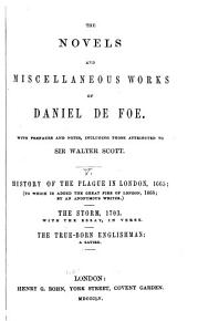 The Novels and Miscellaneous Works of Daniel Defoe PDF