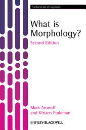 What is Morphology?: Edition 2