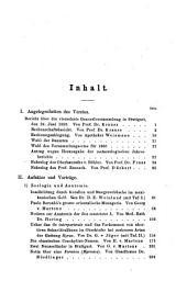 Jahreshefte des Vereins für Vaterländische Naturkunde in Württemberg: zugl. Jahrbuch d. Staatlichen Museums für Naturkunde in Stuttgart, Band 16
