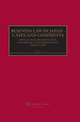 Business Law in Japan PDF