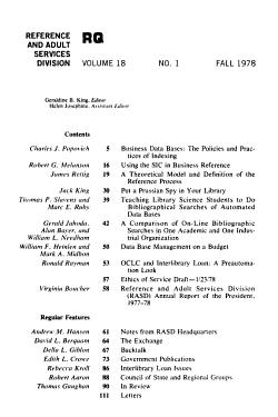 Reference Quarterly PDF