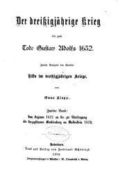 Der dreissigjährige krieg bis zum tode Gustav Adolf 1632: Band 2