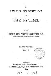 A simple exposition of the Psalms