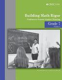 Grade 7 - Building Math Rigor
