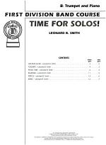 Time for Solos! for B-flat Trumpet, Book 2