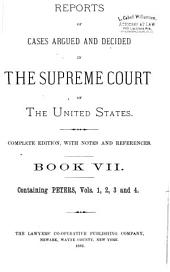 Reports of Cases Argued and Decided in the Supreme Court of the United States: 1-351 U.S; 1790- October term, 1955, Book 7
