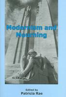 Modernism and Mourning PDF
