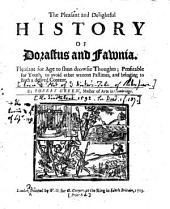 The pleasant historie of Dorastus and Fawnia, etc