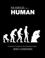 Musings of a Human   a Collection of Thoughts by a Semi Evolved Homo Sapien PDF