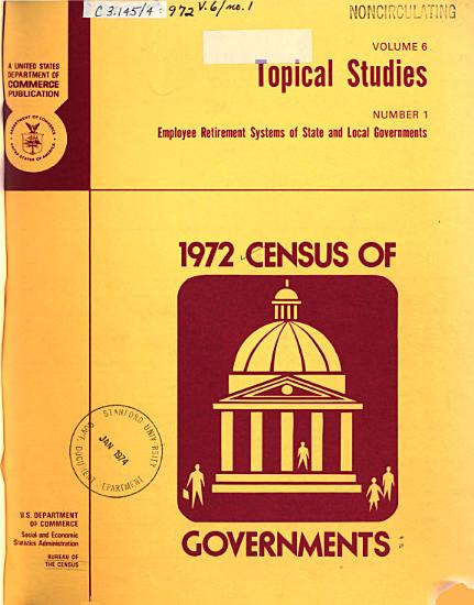 1972 Census of Governments PDF