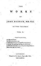 The works of John Huxam: Volume 2