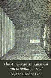 The American Antiquarian and Oriental Journal: Volume 21