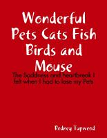 Wonderful Pets Cats Fish Birds and Mouse PDF
