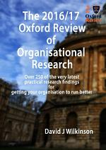 The Oxford Review Annual 2016/17