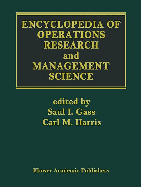 Operations Research Management Science