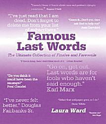 Famous Last Words PDF