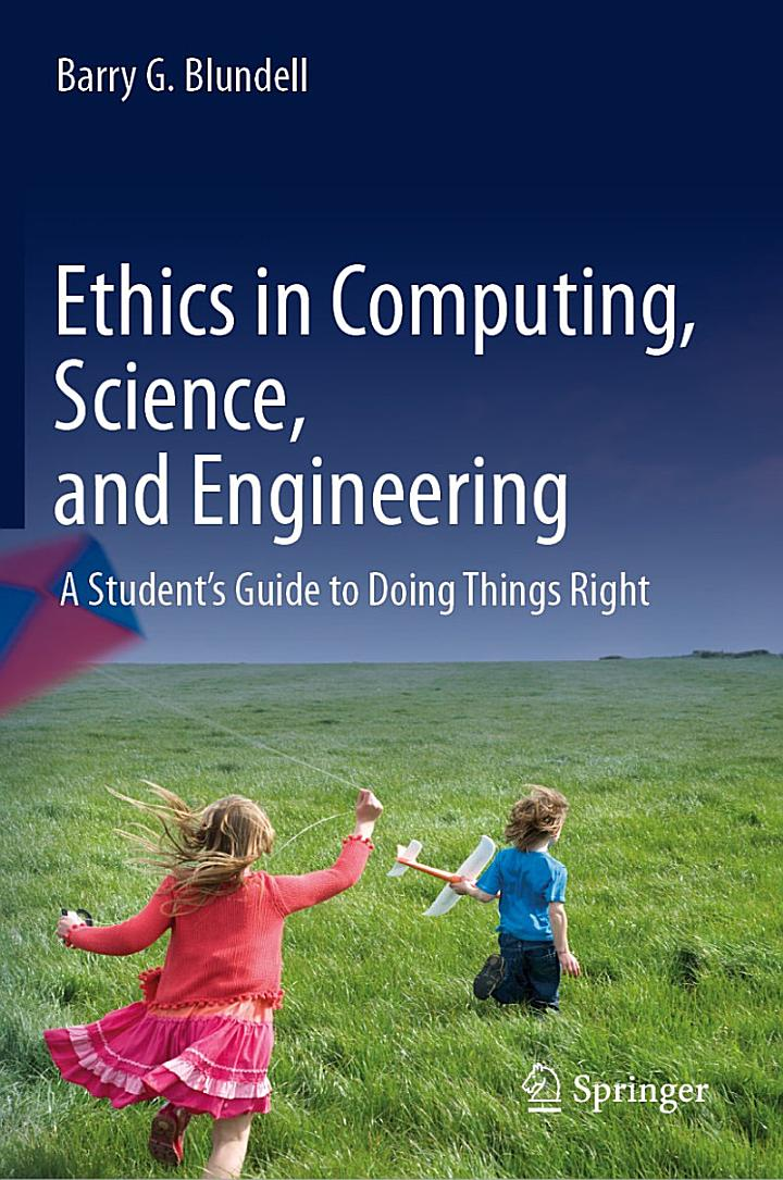 Ethics in Computing, Science, and Engineering