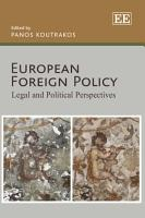 European Foreign Policy PDF