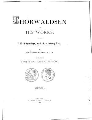Thorwaldsen and His Works PDF