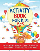 Activity Book for Kids 6 8 PDF