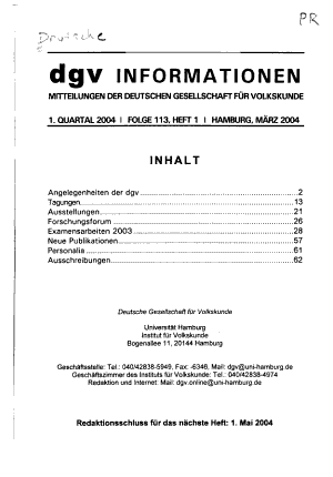 DGV Informationen PDF