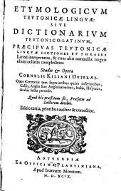 Etymologicum teutonicae linguae