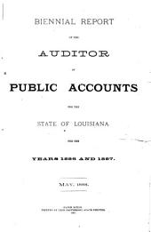 Report of the Auditor of Public Accounts to the General Assembly of the State of Louisiana