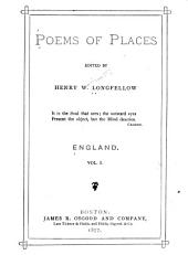 Poems of Places: Volume 1
