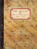 The Travels of David Thompson 1784-1812