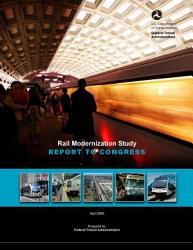 Rail Modernization Study Report To Congress Book PDF