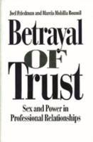 Betrayal of Trust PDF