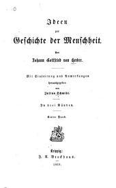 Ideen zur Geschichte der Menschheit: Bände 1-2